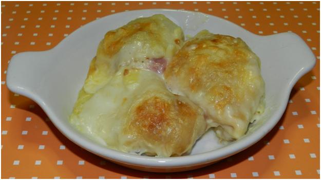Crêpes Golose: prosciutto e formaggio