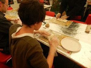Mini workshop di sushi