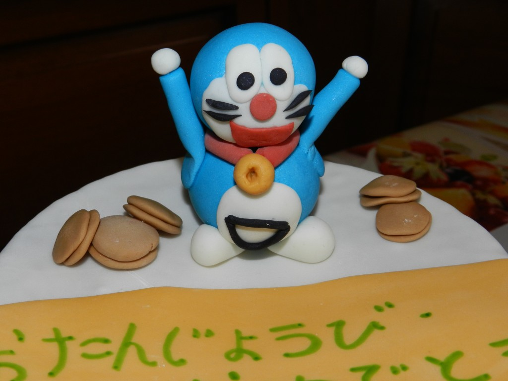 Doraemon Tutorial – Cake Design