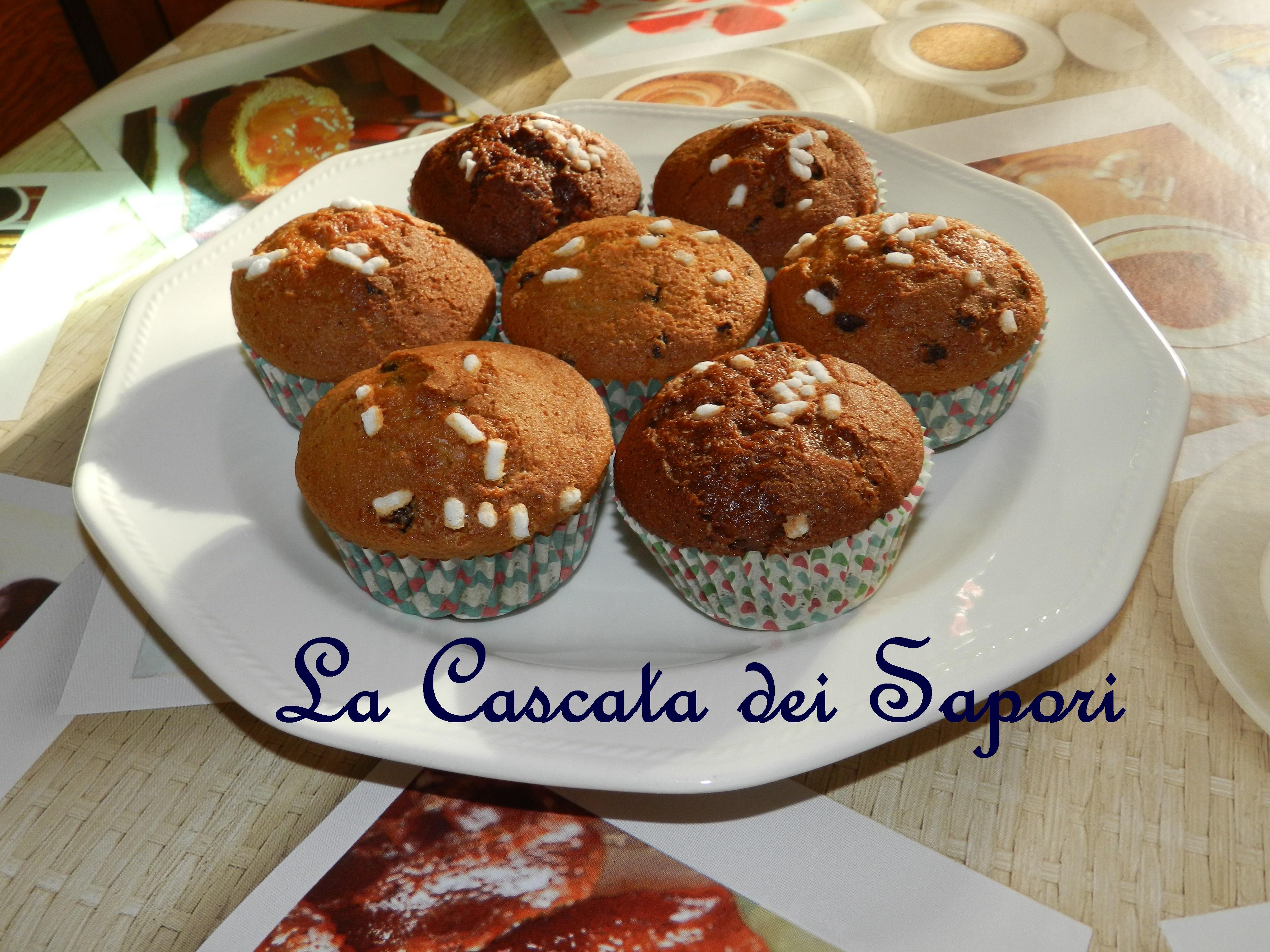 Muffins al burro di arachidi