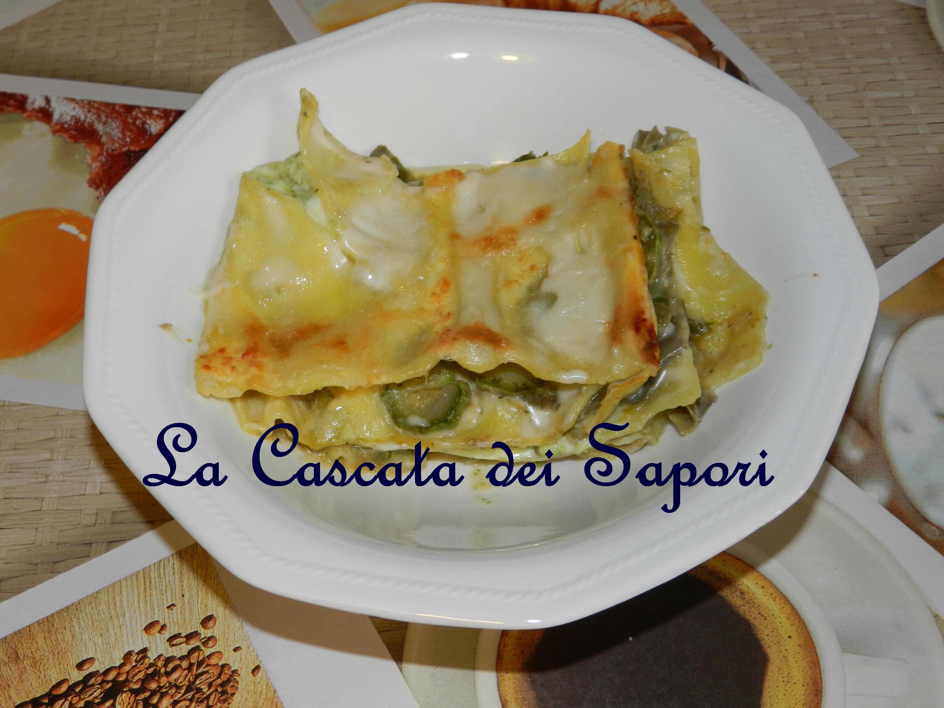 Lasagne al forno in Verde
