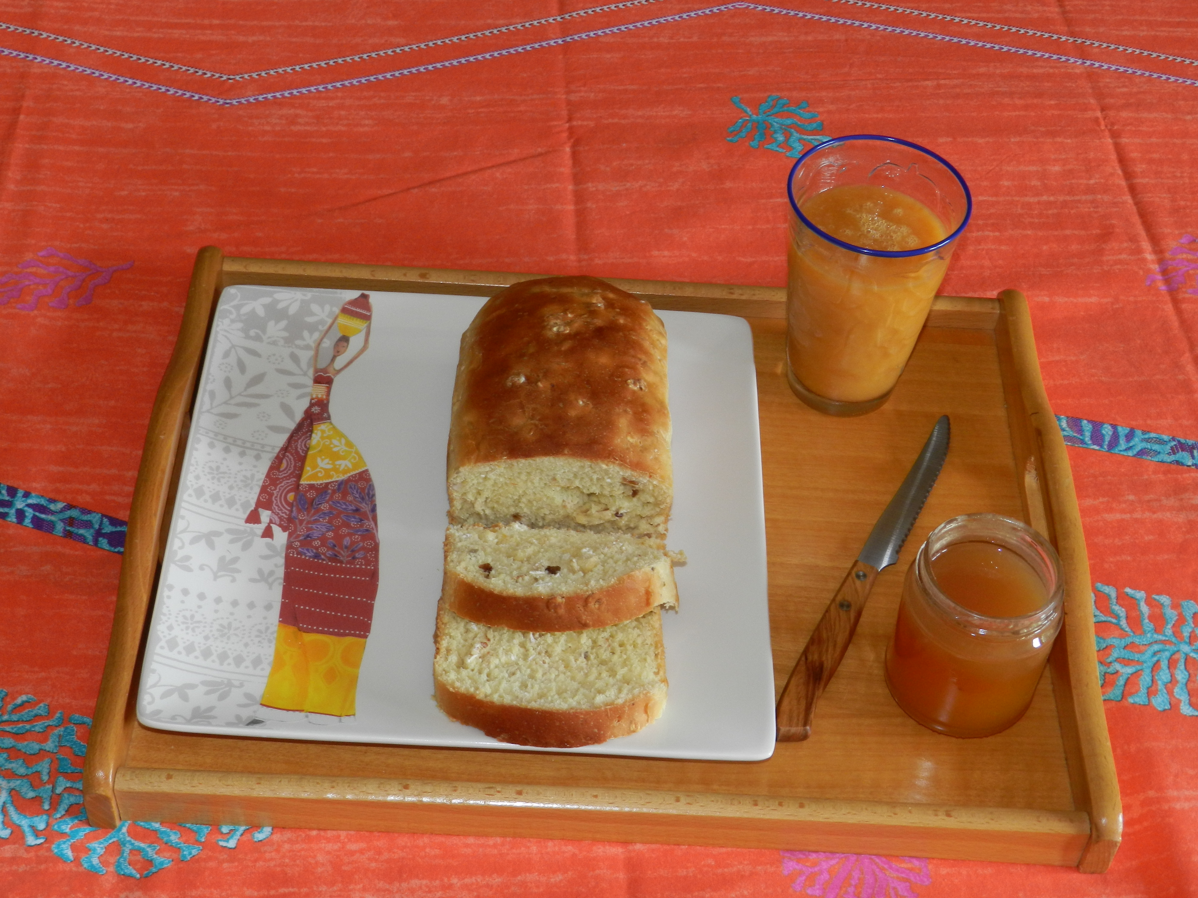 pane dolce al miele e muesli