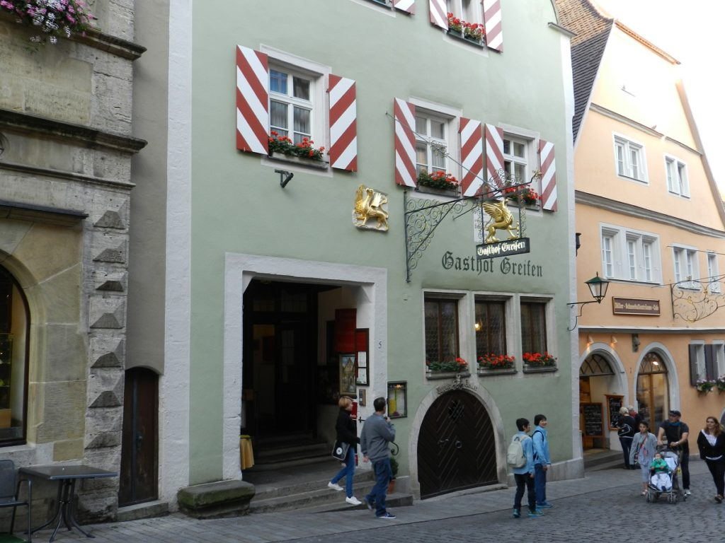 GustiAMO ROTHENBURG Dove mangiare a Rothenburg ob der Tauber