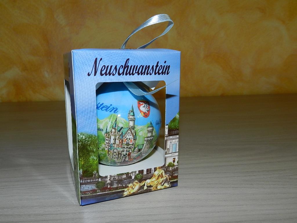 pallina di natale Neuschwanstein