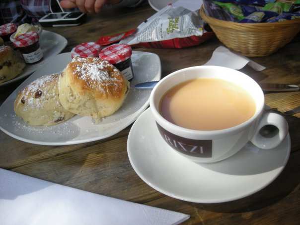 Cream tea London
