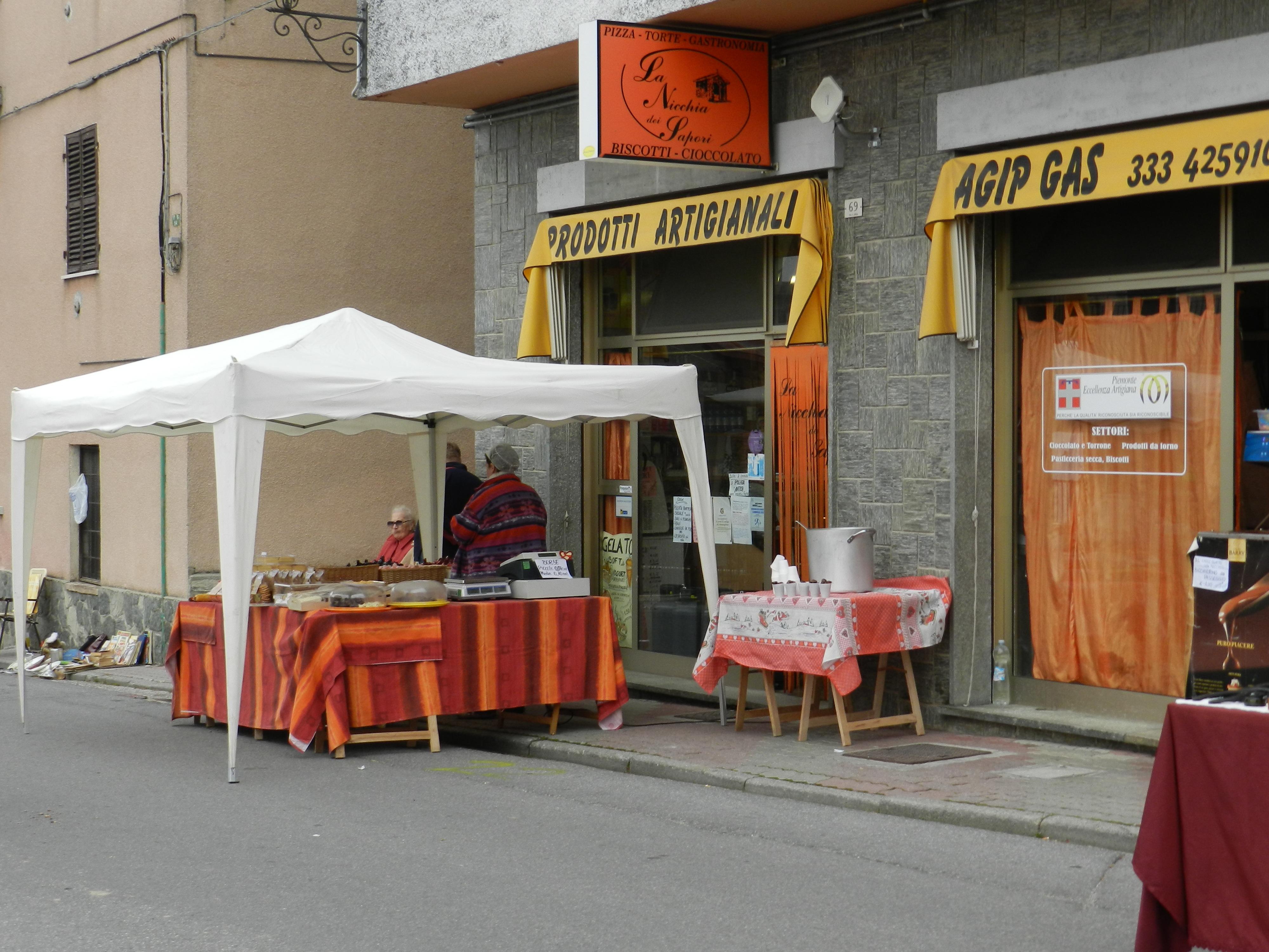 Castagnata S. Giacomo di Roburent