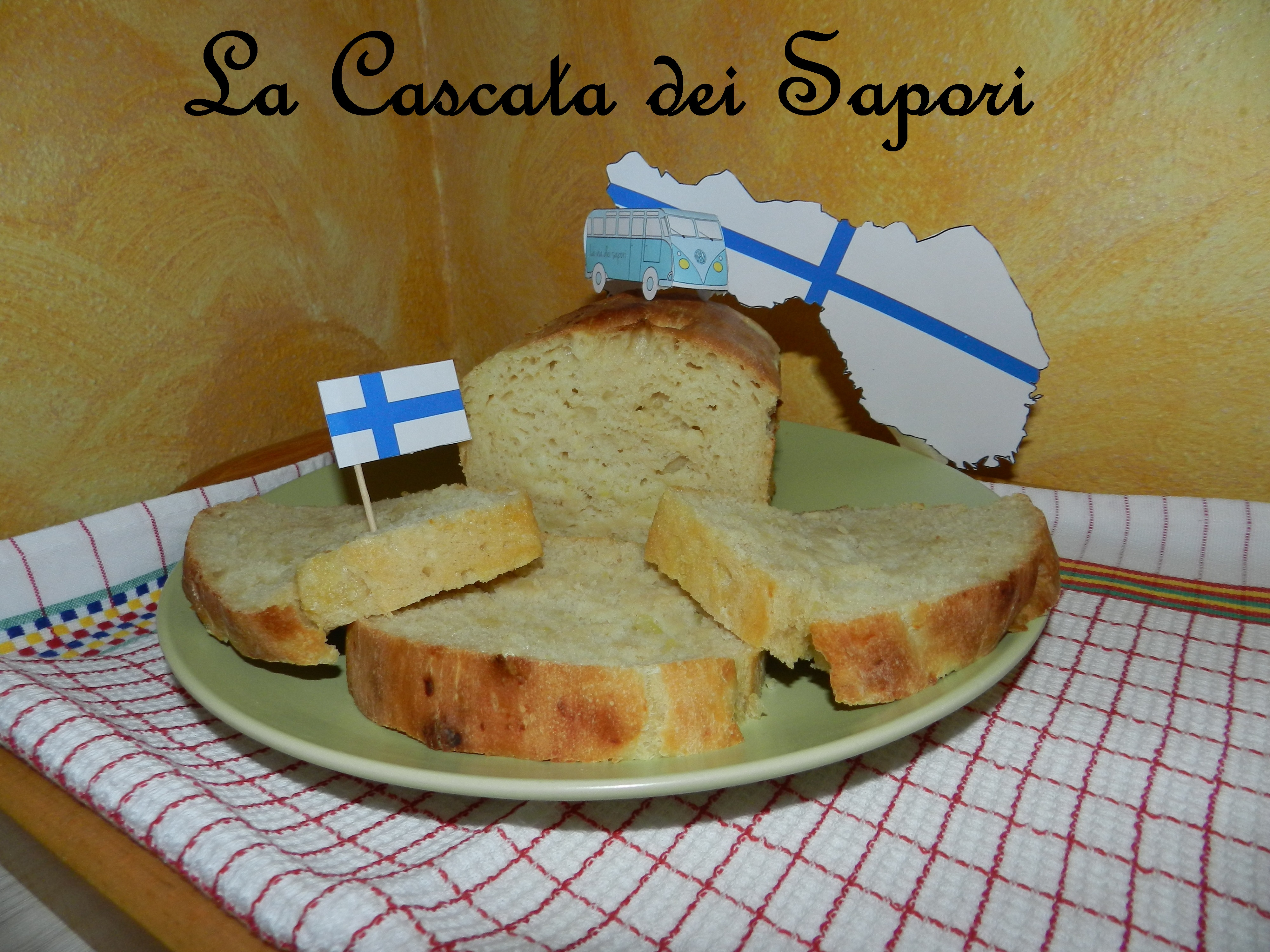 Pane Finlandese alle Patate