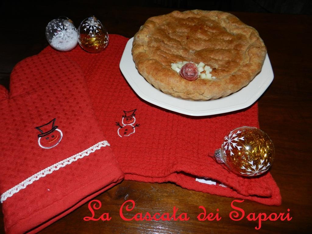 Torta Rustica: Salame & Asiago