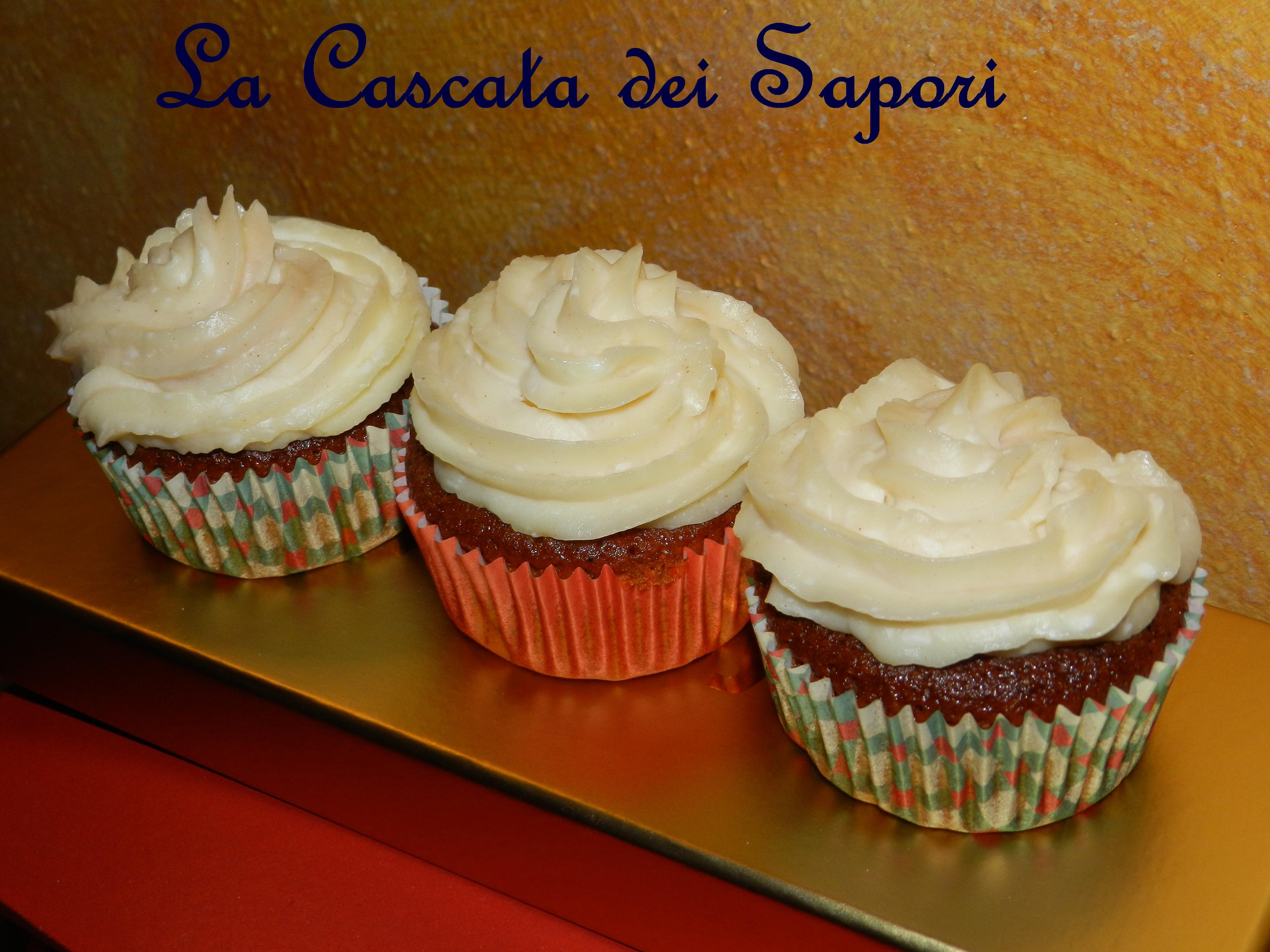 Cupcakes alla Mela & Cannella