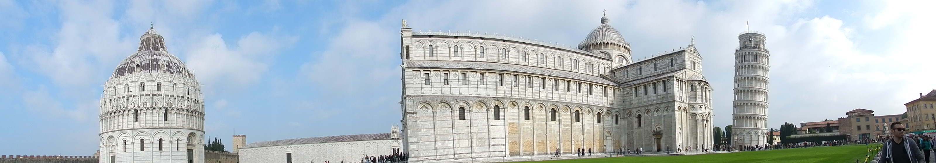 Passeggiando per le vie di Pisa