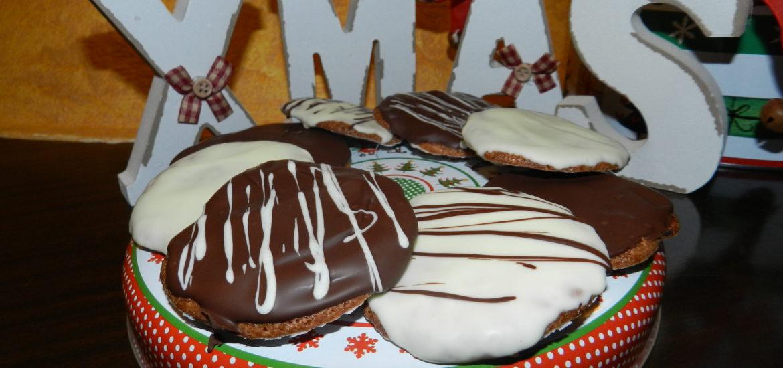 Re-Cake 14: Chocolate Brushed Lebkuchen