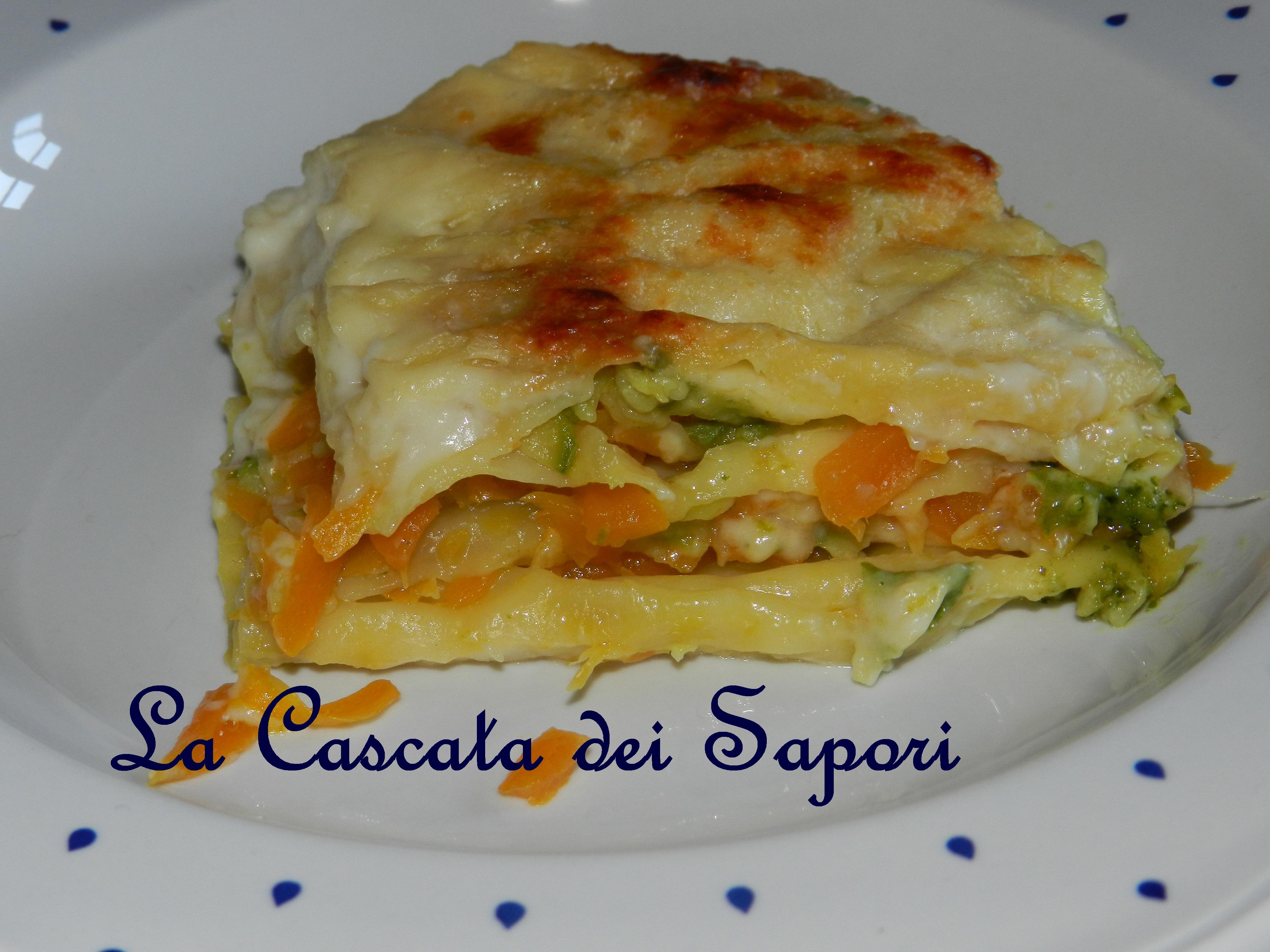 Lasagne di verdure e pesto