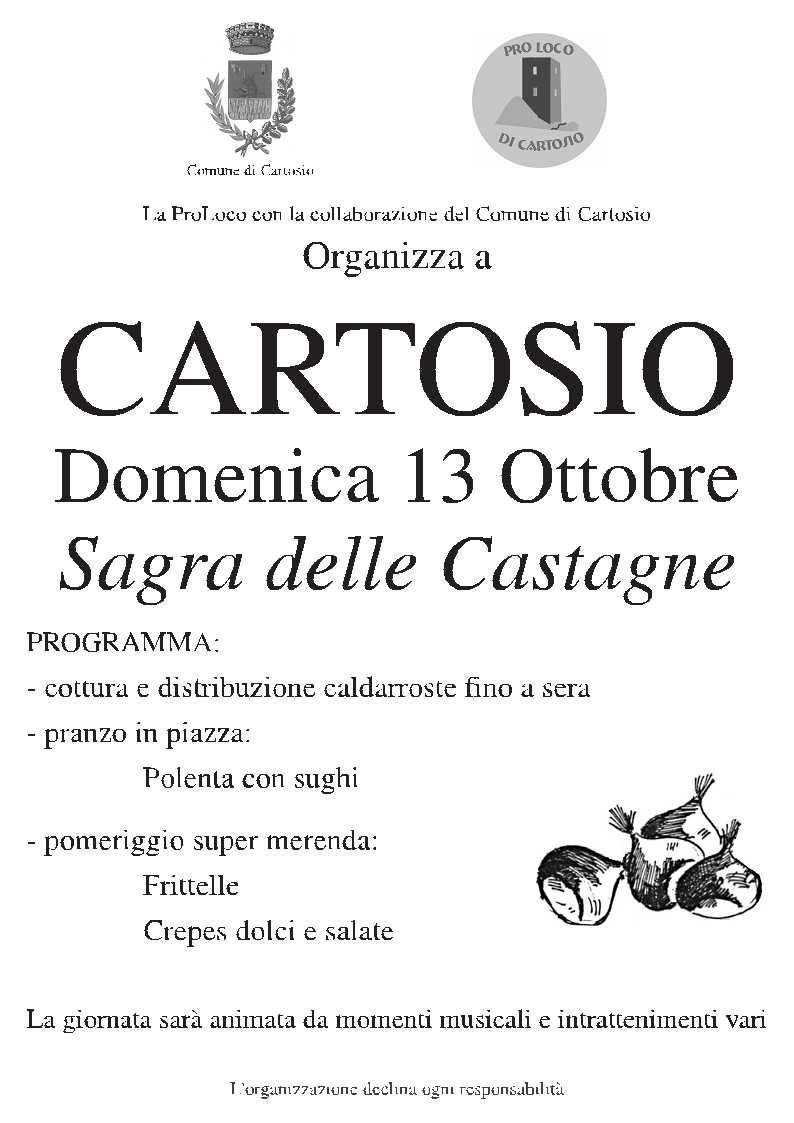 Festa delle Castagne Cartosio