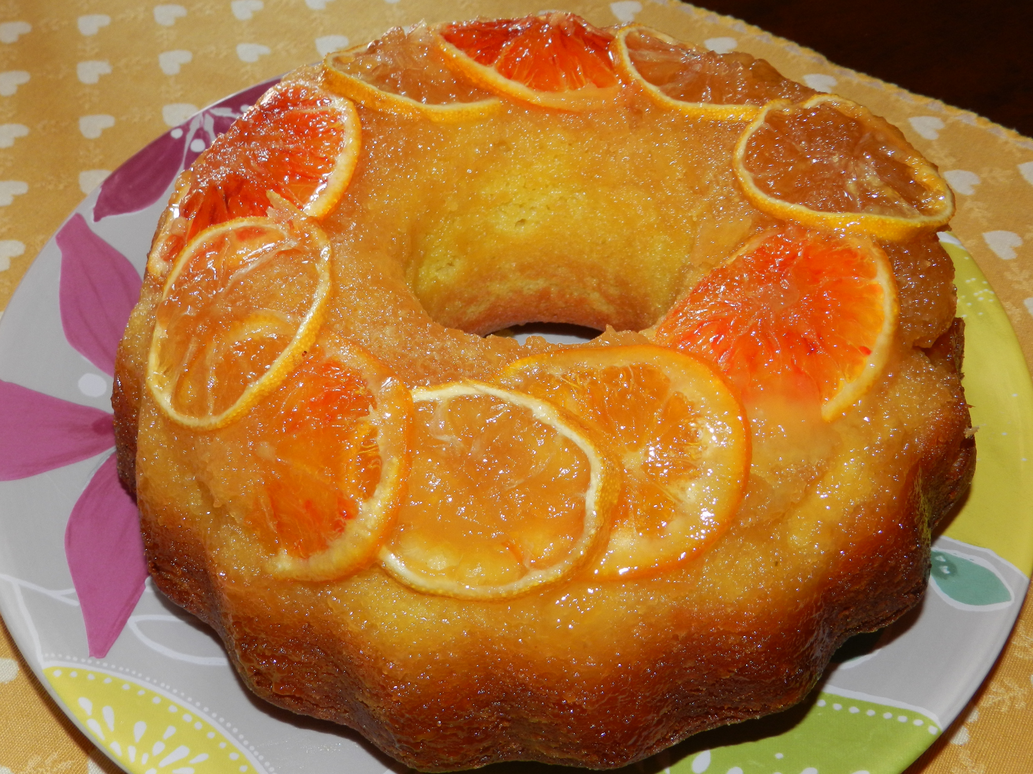 Winter Citrus Upside Down Cake – Torta speziata agli agrumi Re-Cake 2.0