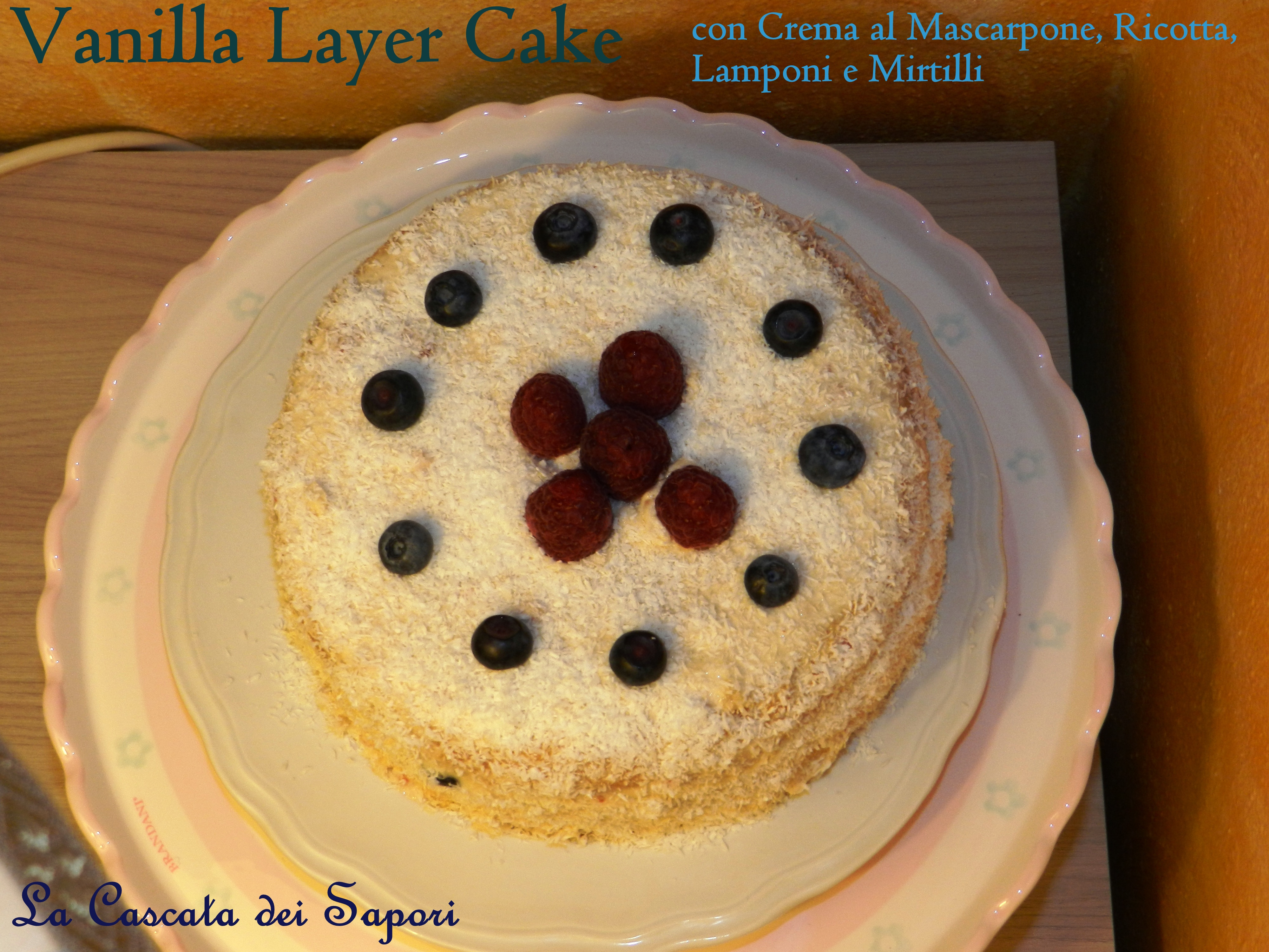 Vanilla Layer Cake 2