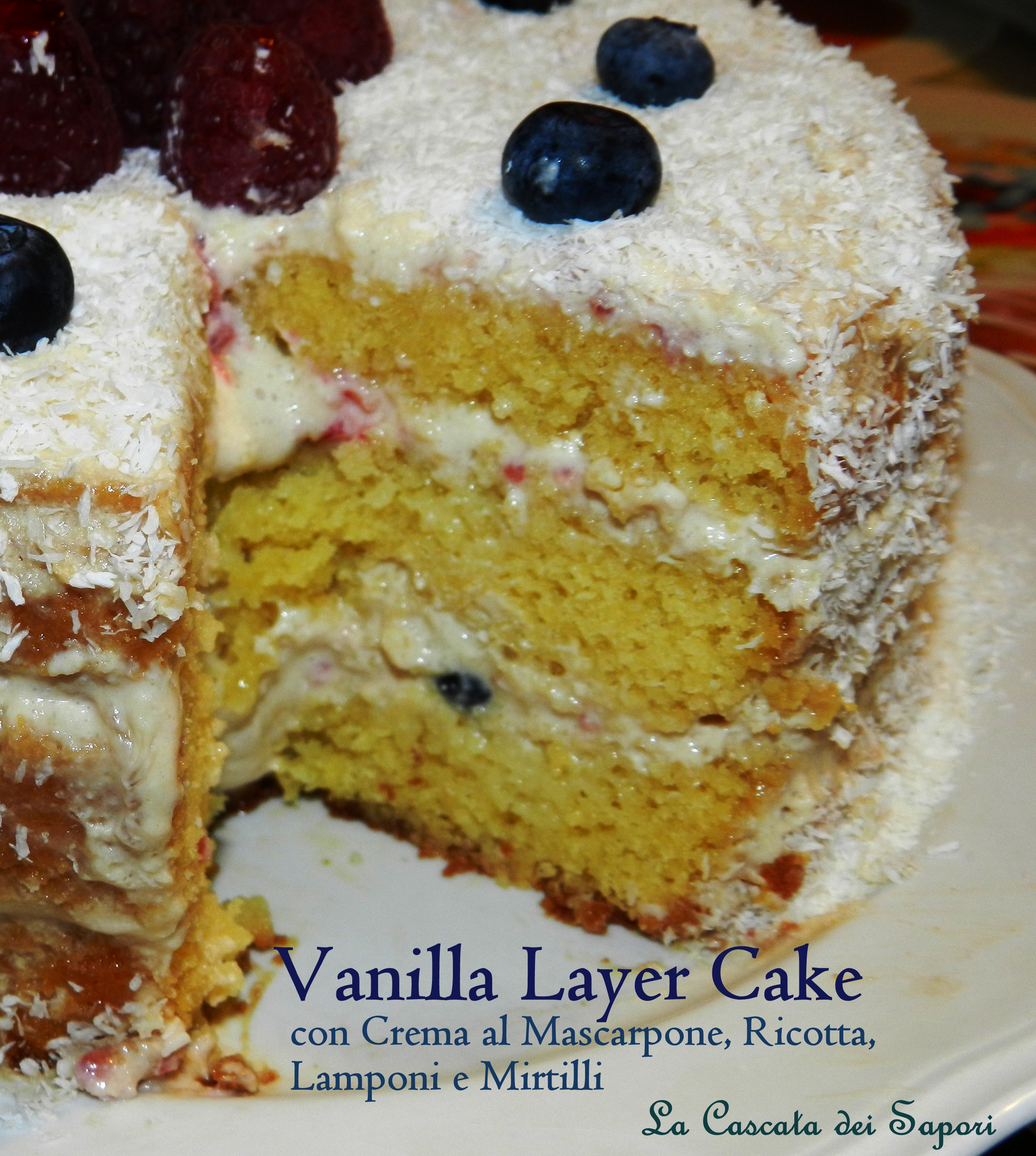 Vanilla Layer Cake 3