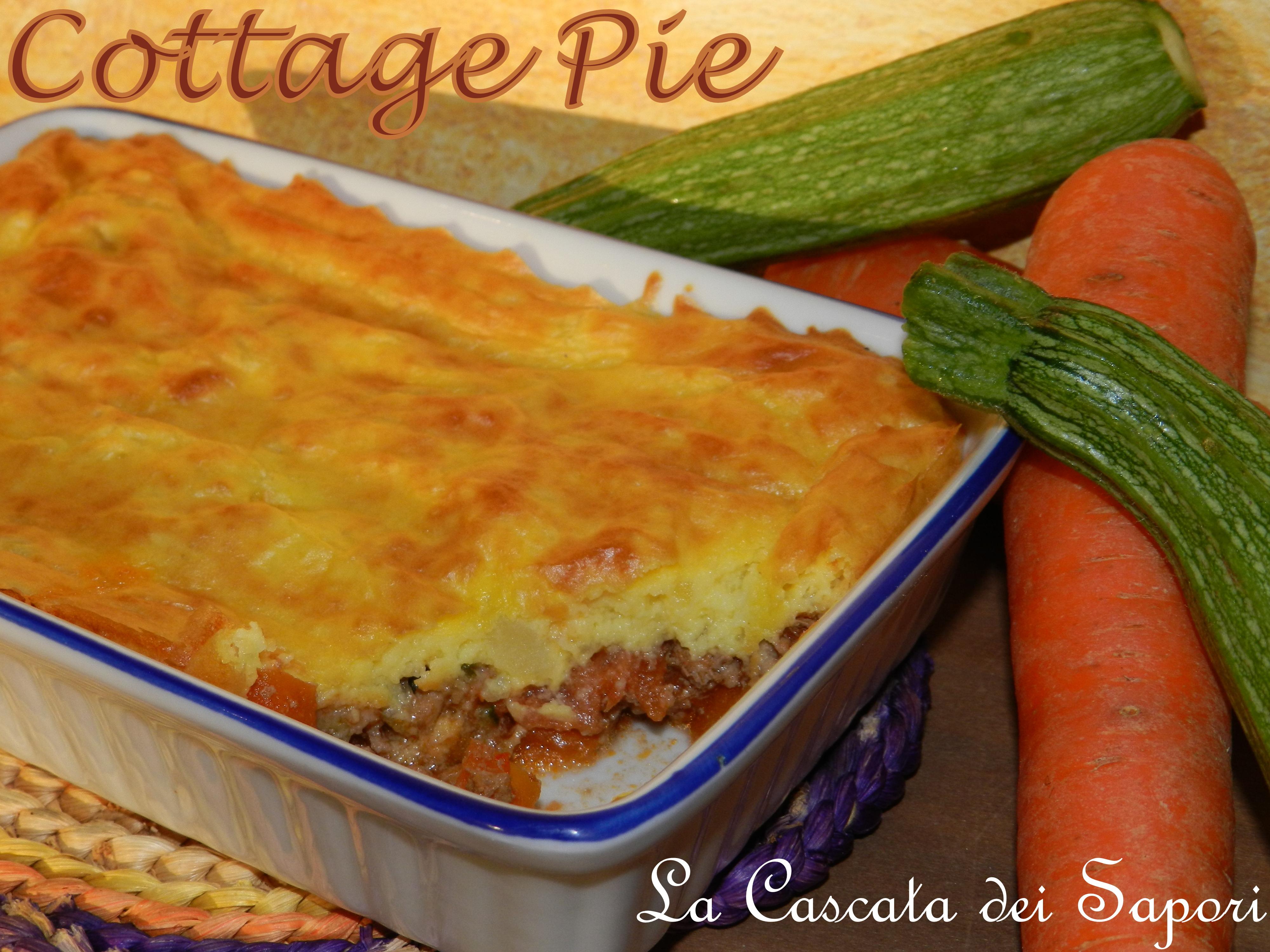 Cottage Pie (Pasticcio di carne e patate)