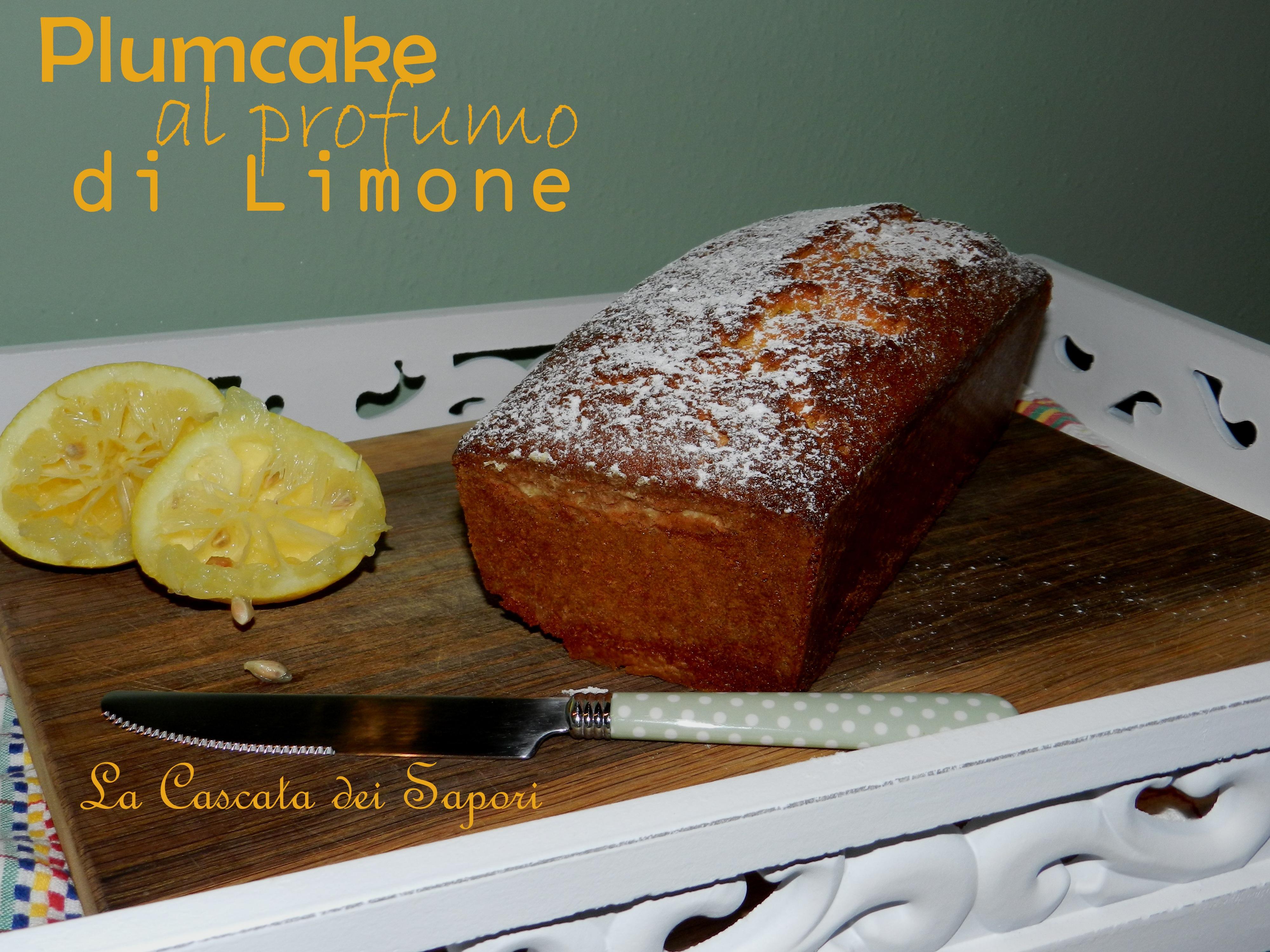 Plumcake al profumo di Limone