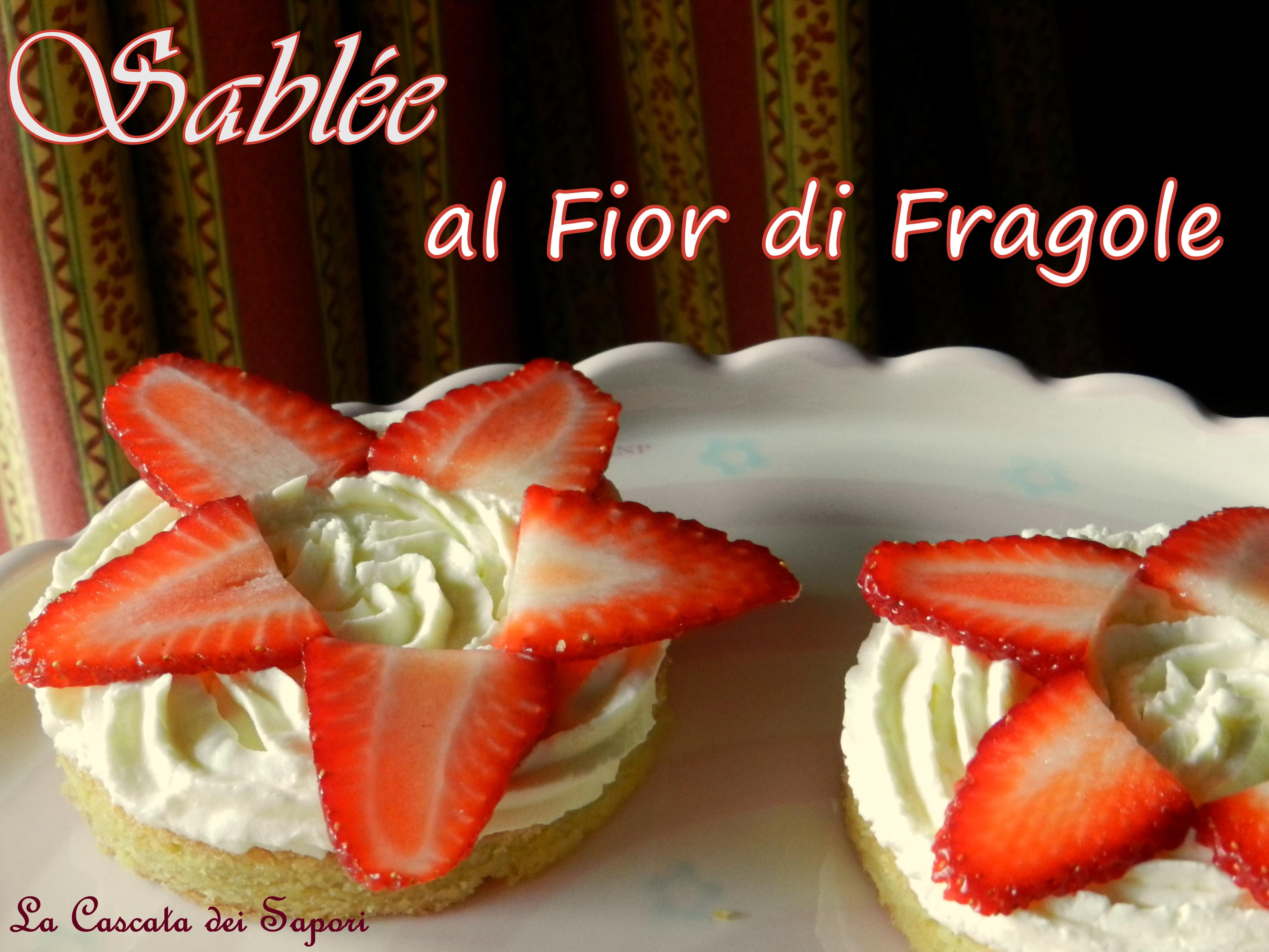 Sablée al Fior di Fragole