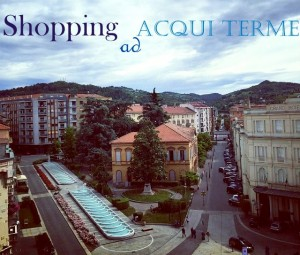 3,2,1… Via con lo Shopping ad Acqui Terme!