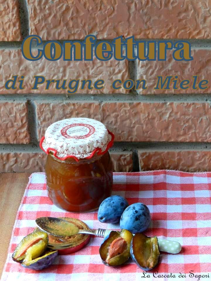 Confettura di Prugne con Miele
