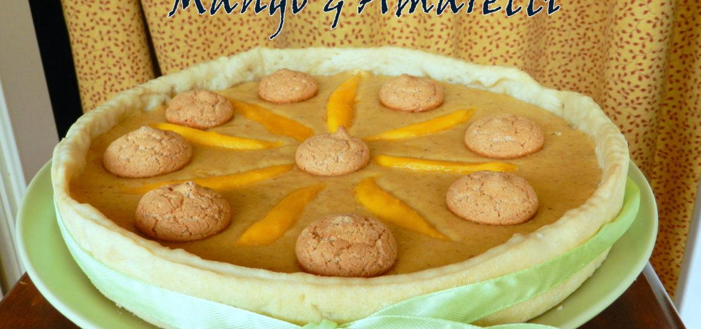 Torta-mango-e-amaretti