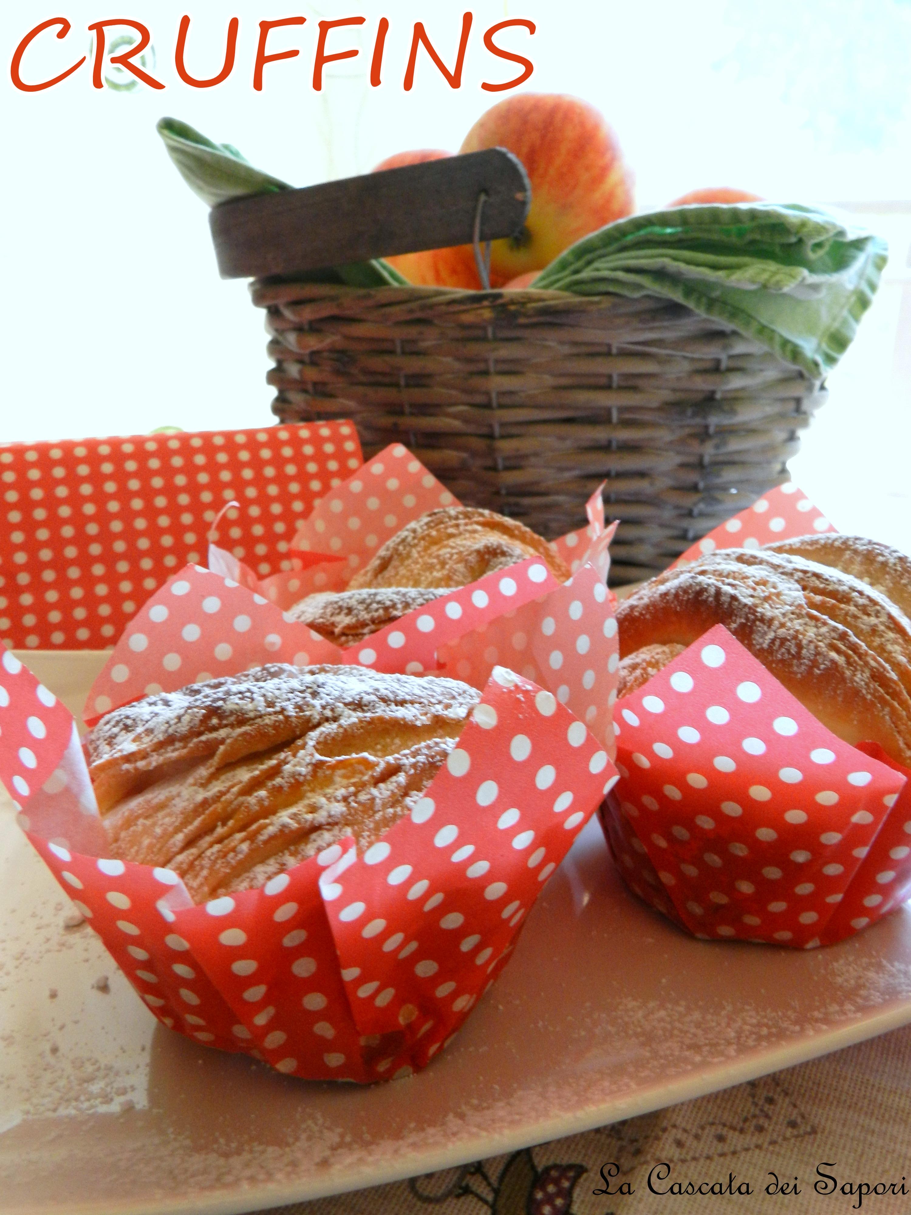 CRUFFIN con Marmellata di Mele & Miele homemade