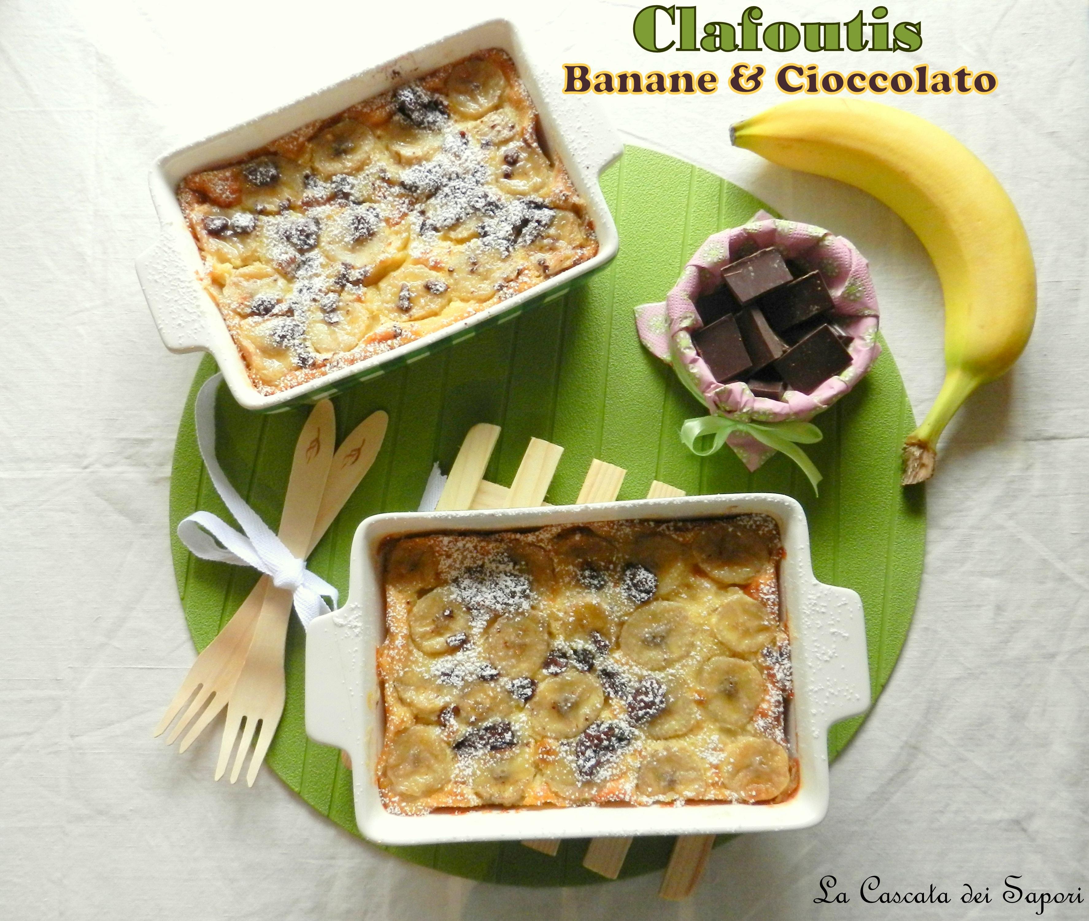 Clafoutis Banane & Cioccolato