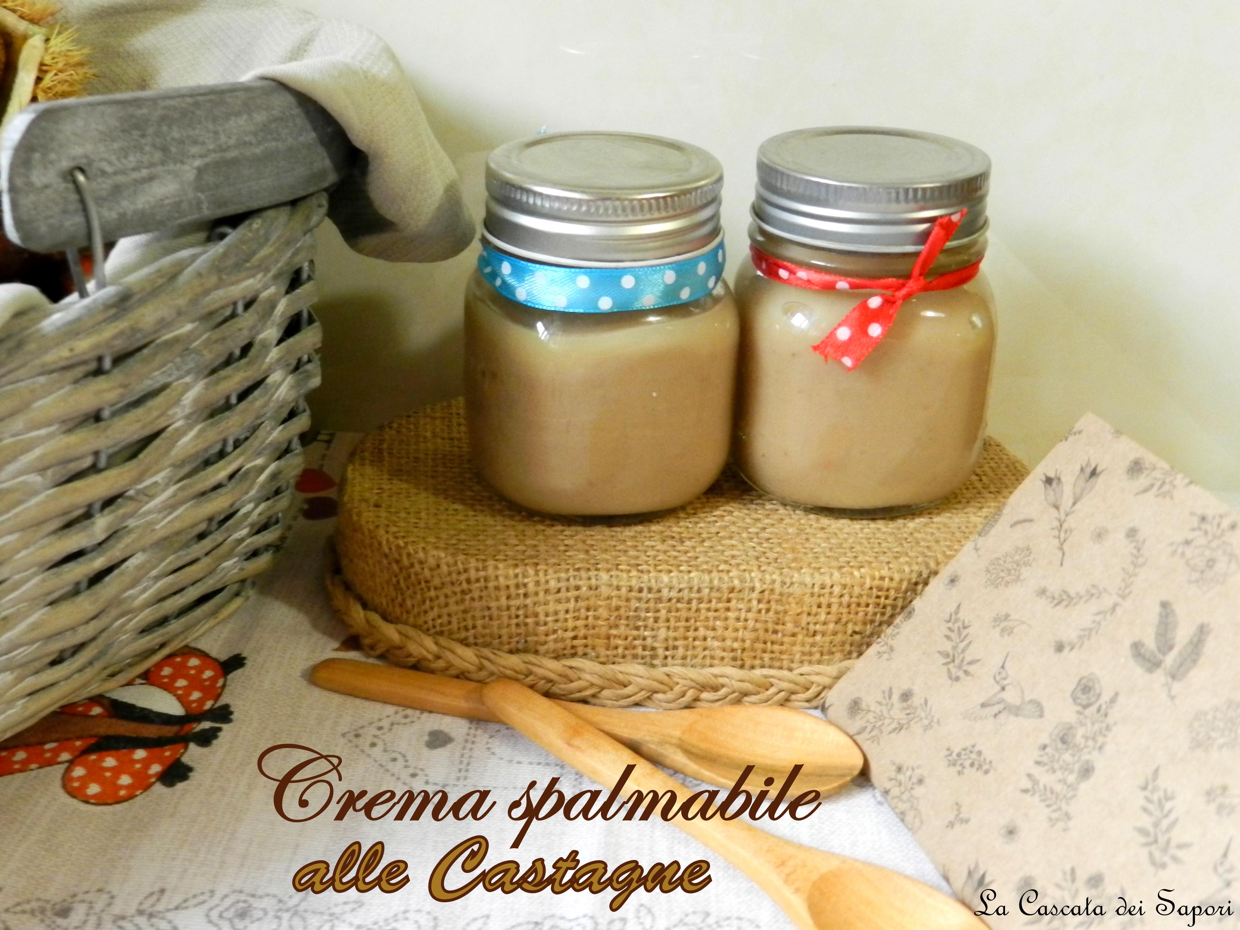 Crema spalmabile alle Castagne