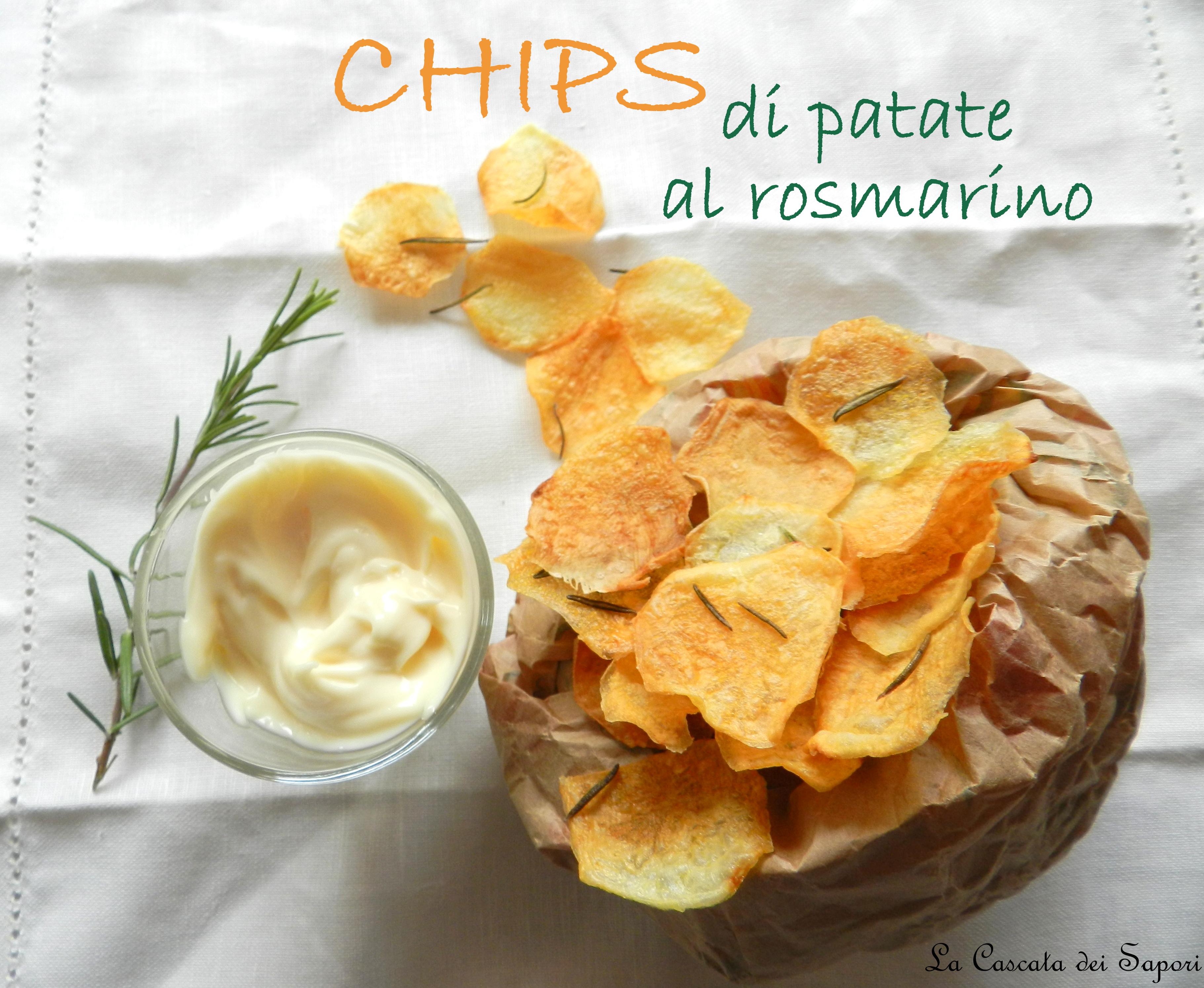CHIPS di patate al rosmarino