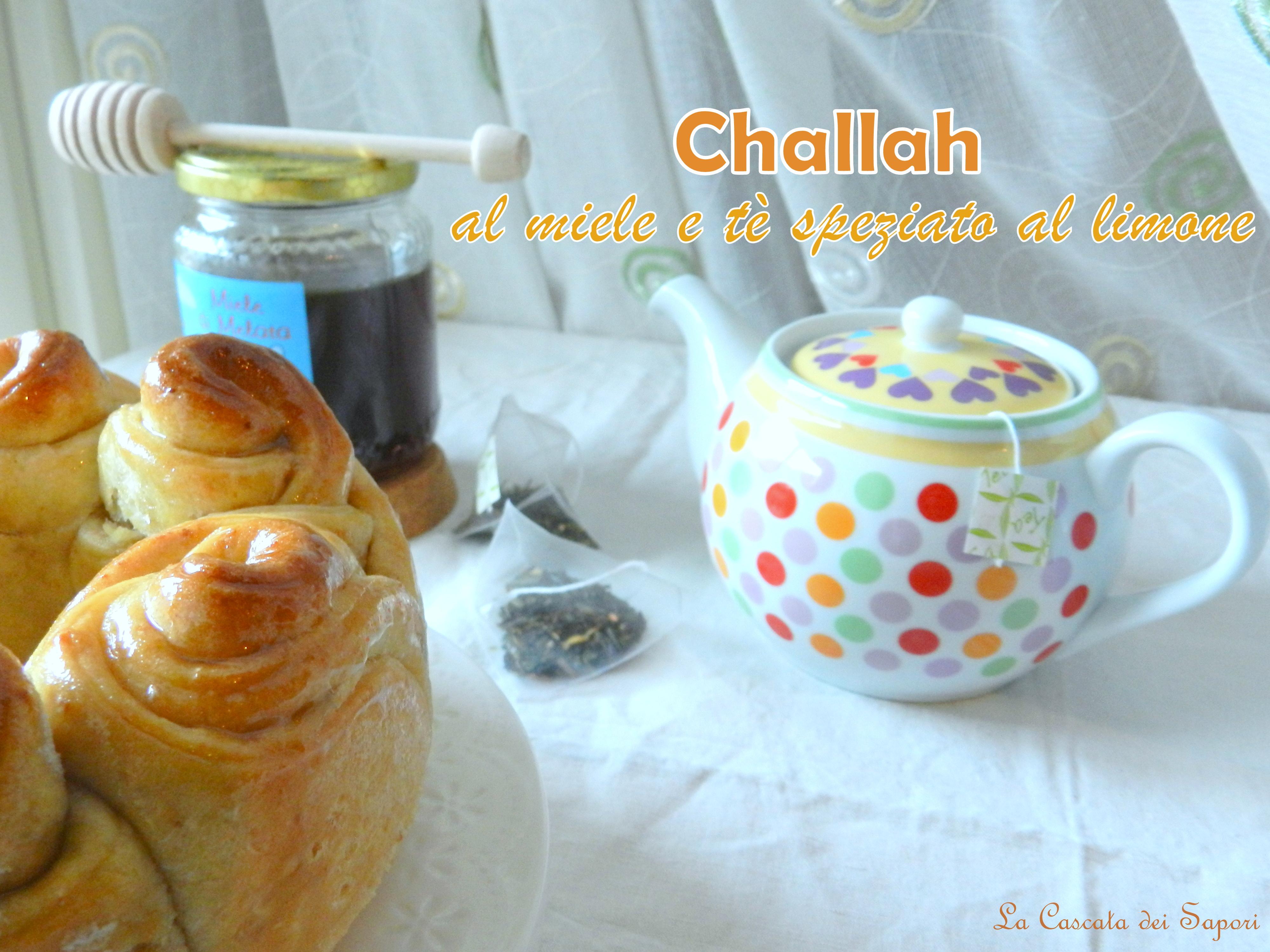 Challah-al-miele-e-tè-speziato-al-limone