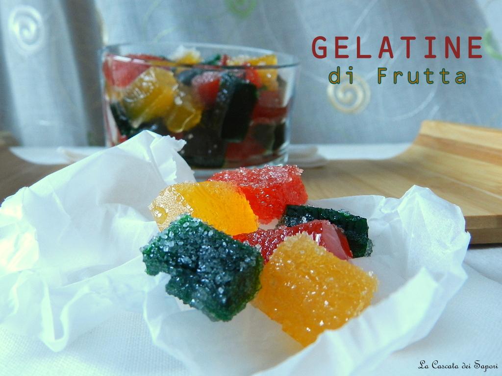 gelatine di frutta