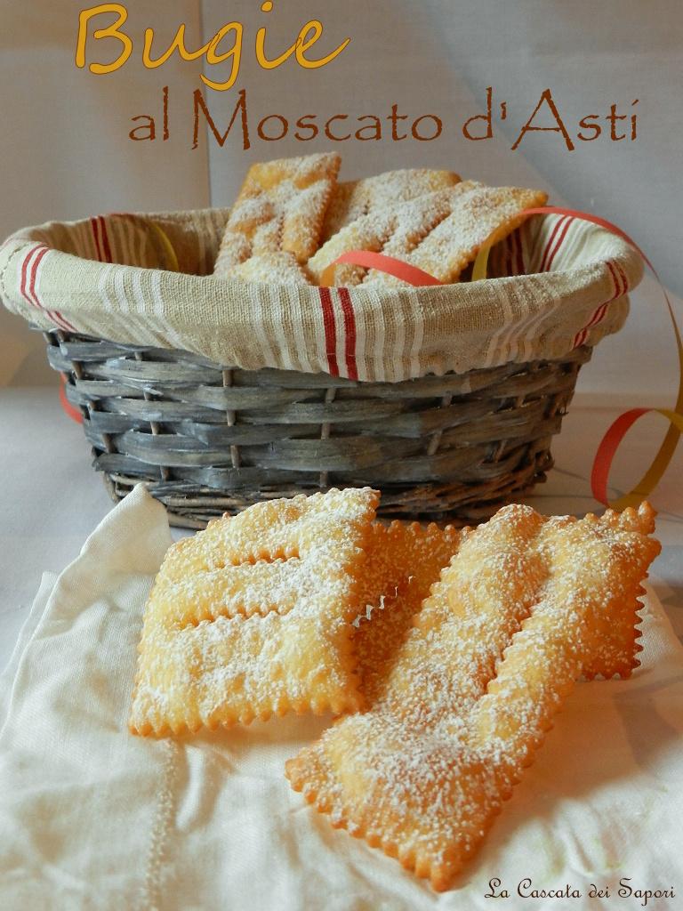 Bugie di Carnevale al Moscato d'Asti