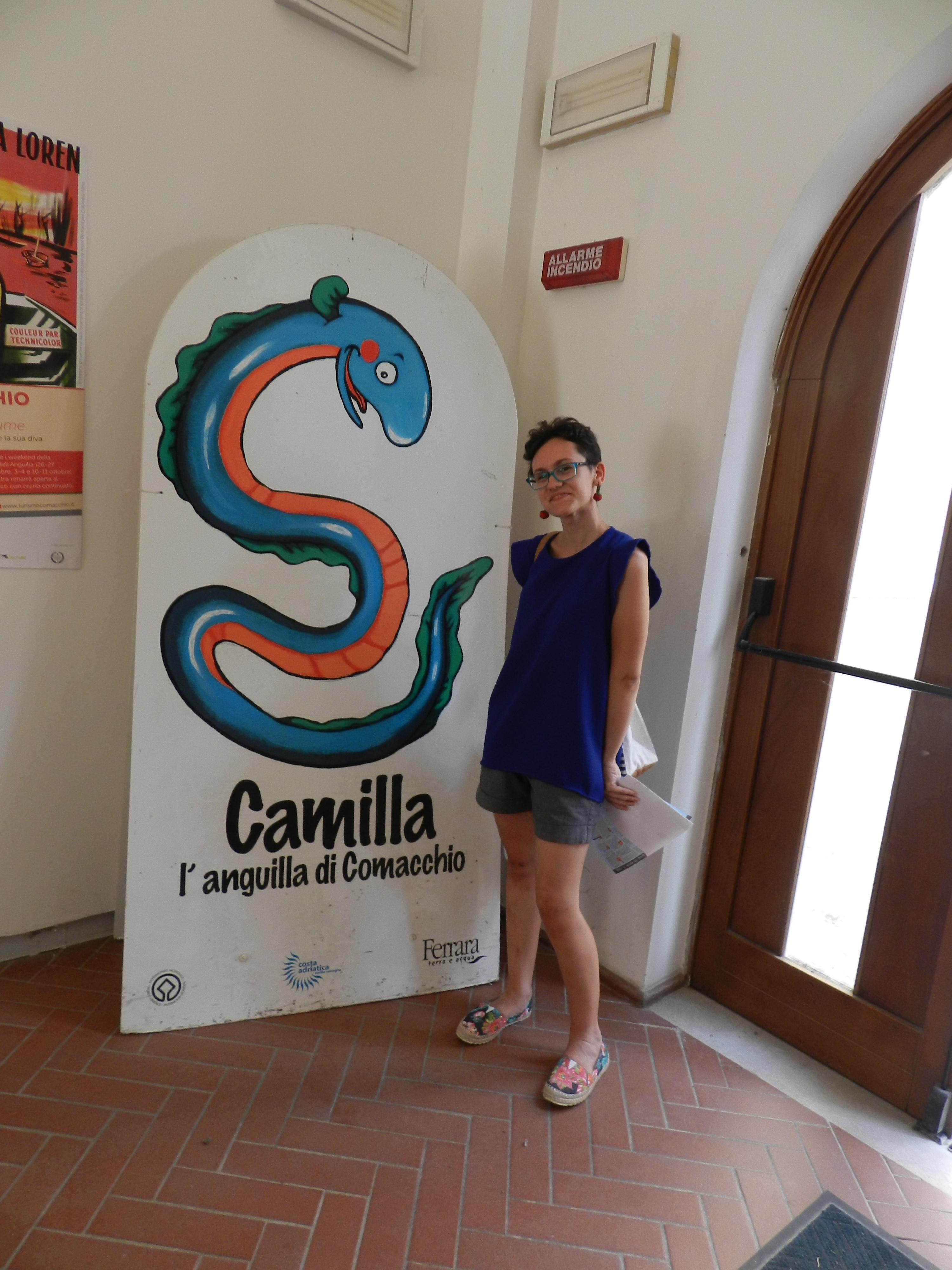 Camilla: l'Anguilla di Comacchio!