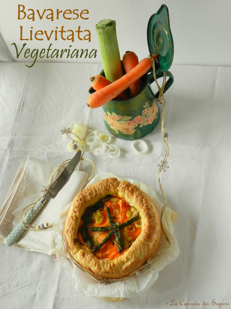 Bavarese-Lievitata-vegetariana