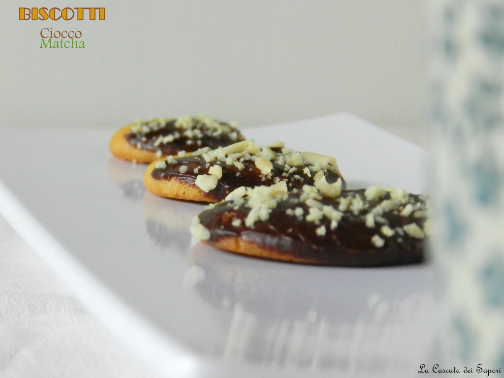 Biscotti Ciocco-Matcha