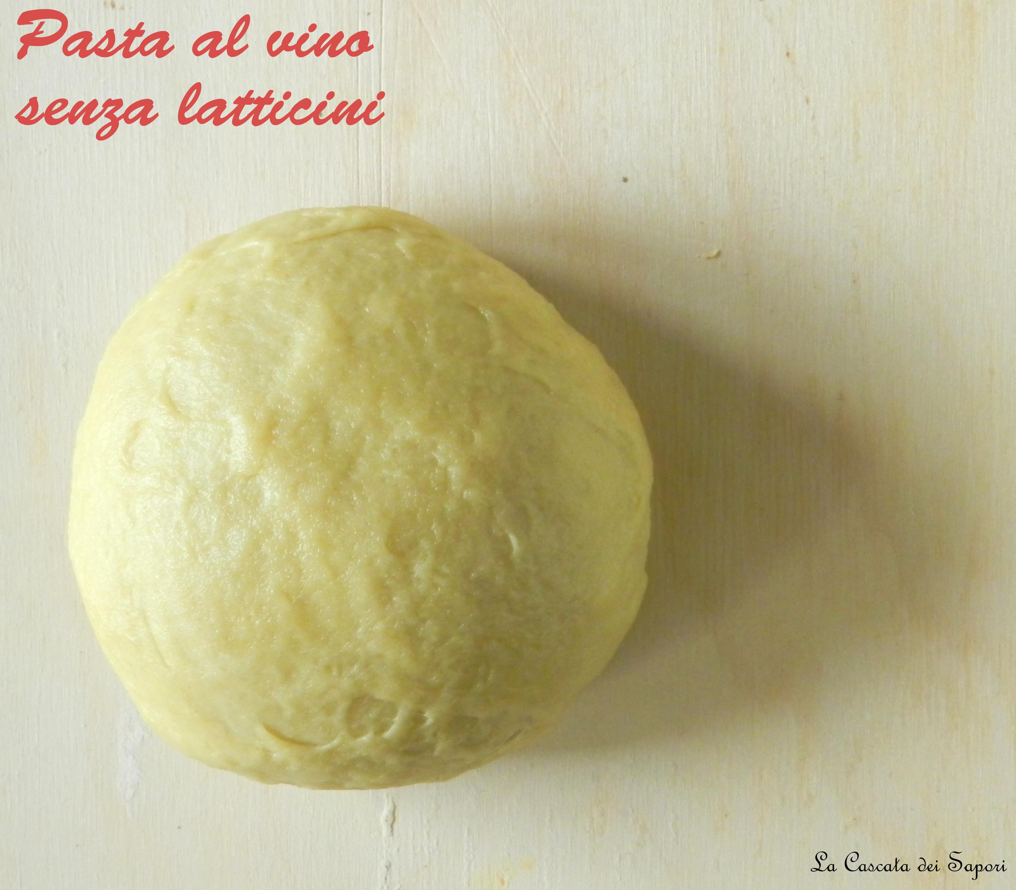 Pasta-al-vino-senza-latticini