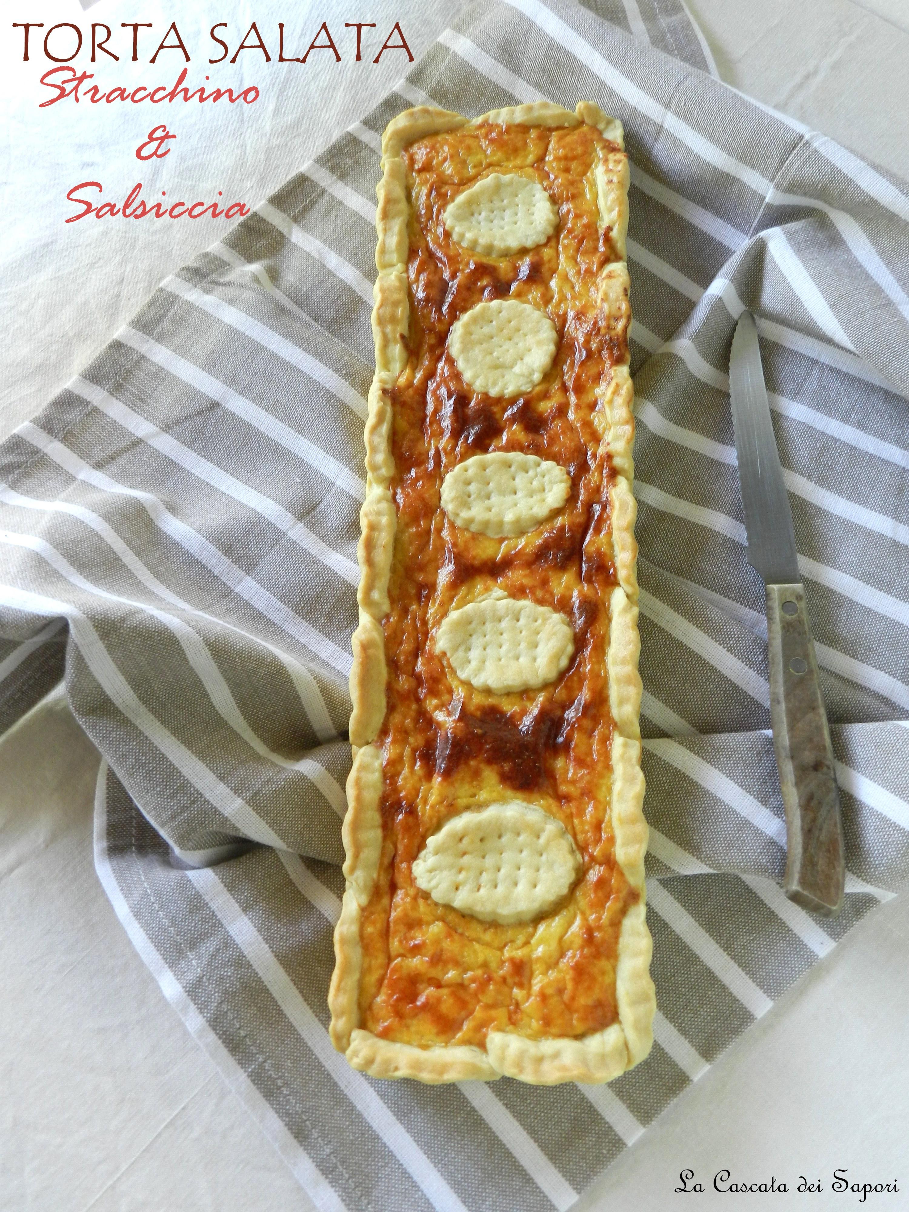 Torta-salata-stracchino-e-salsiccia