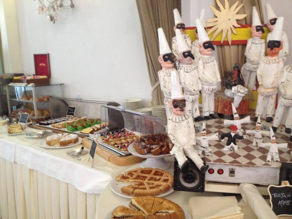 Colazione Hotel Palace a Viareggio