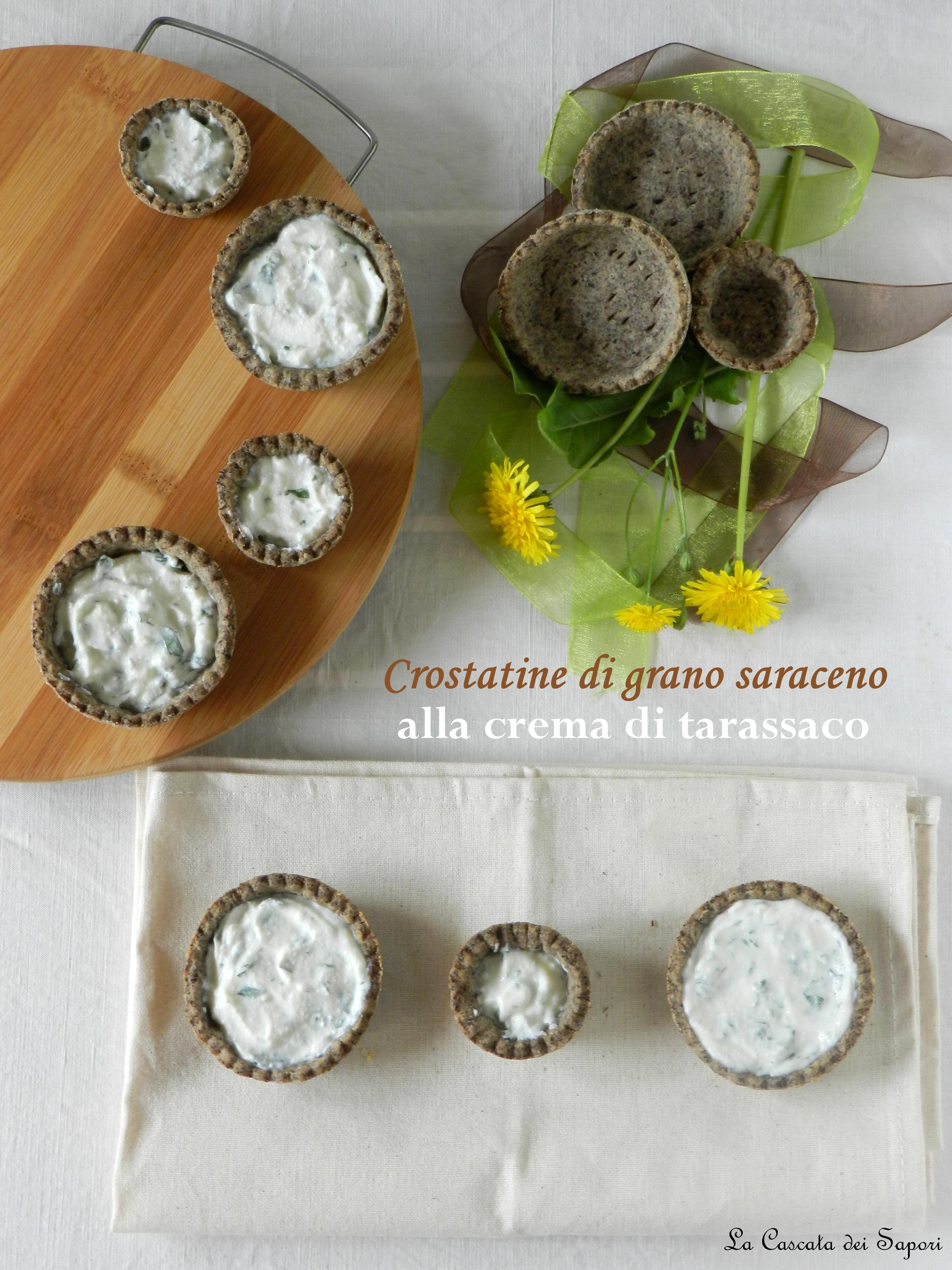 Crostatine alla crema di Tarassaco
