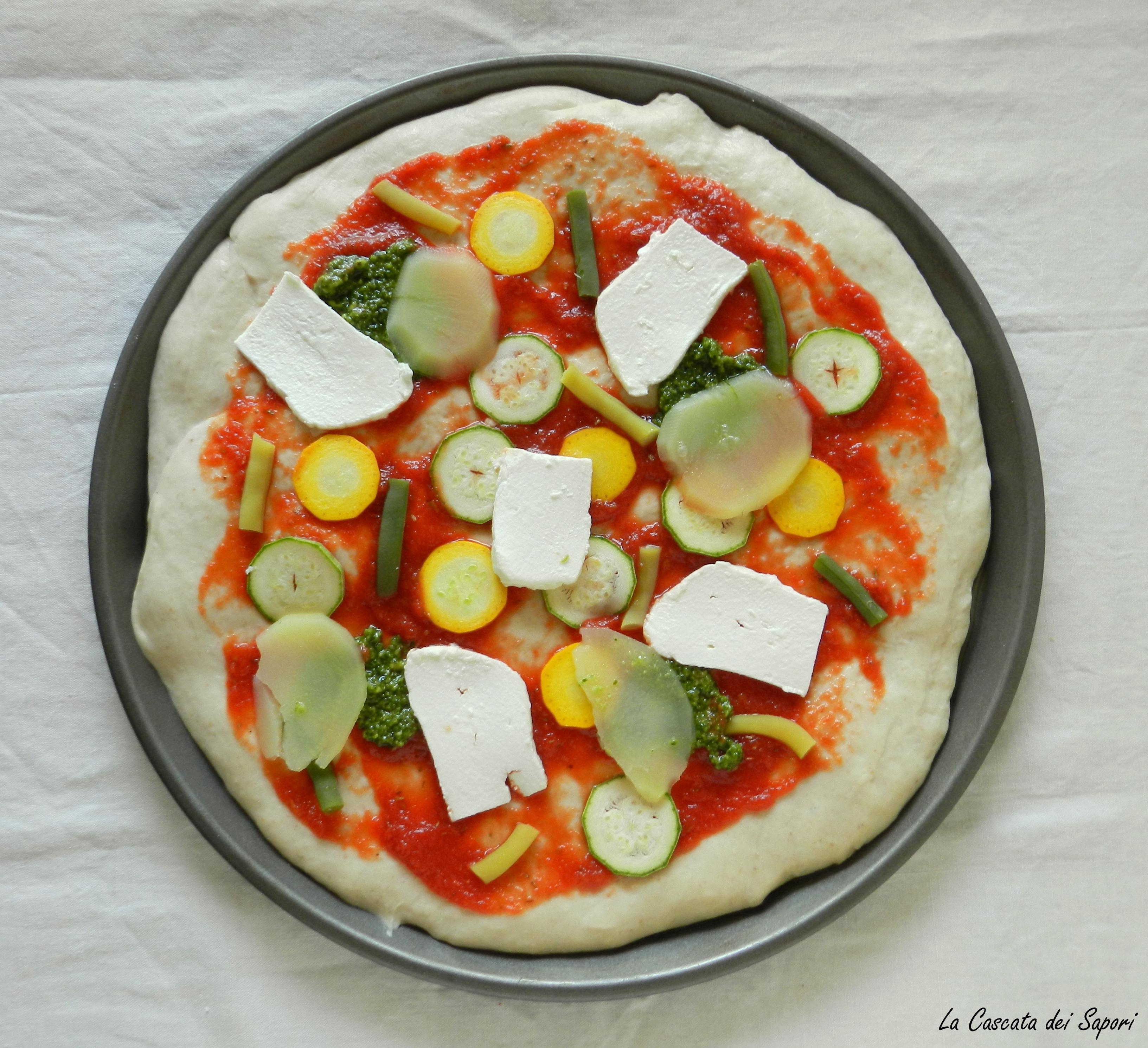Pizza Ortolana con Pasta Madre