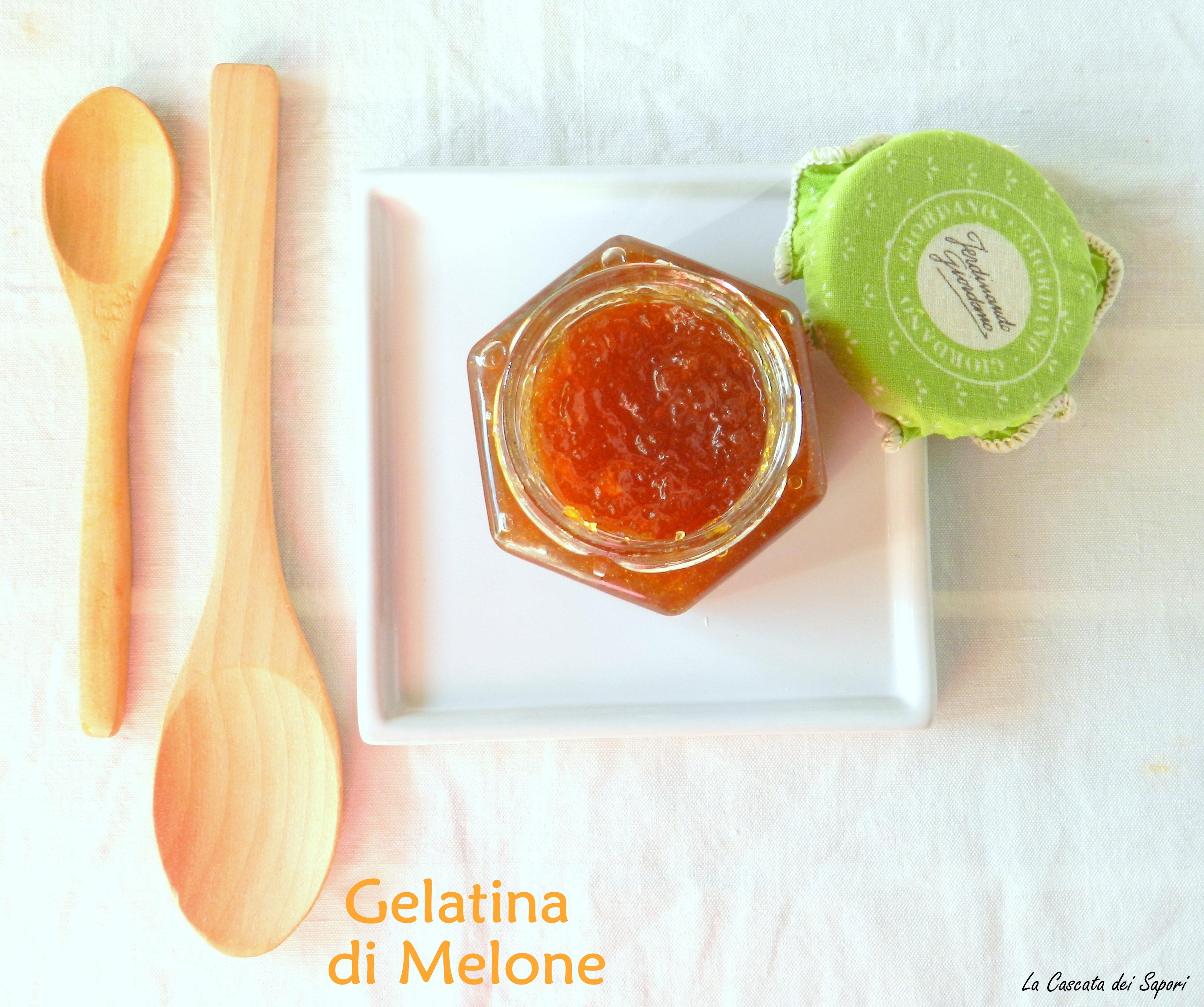 Gelatina di melone