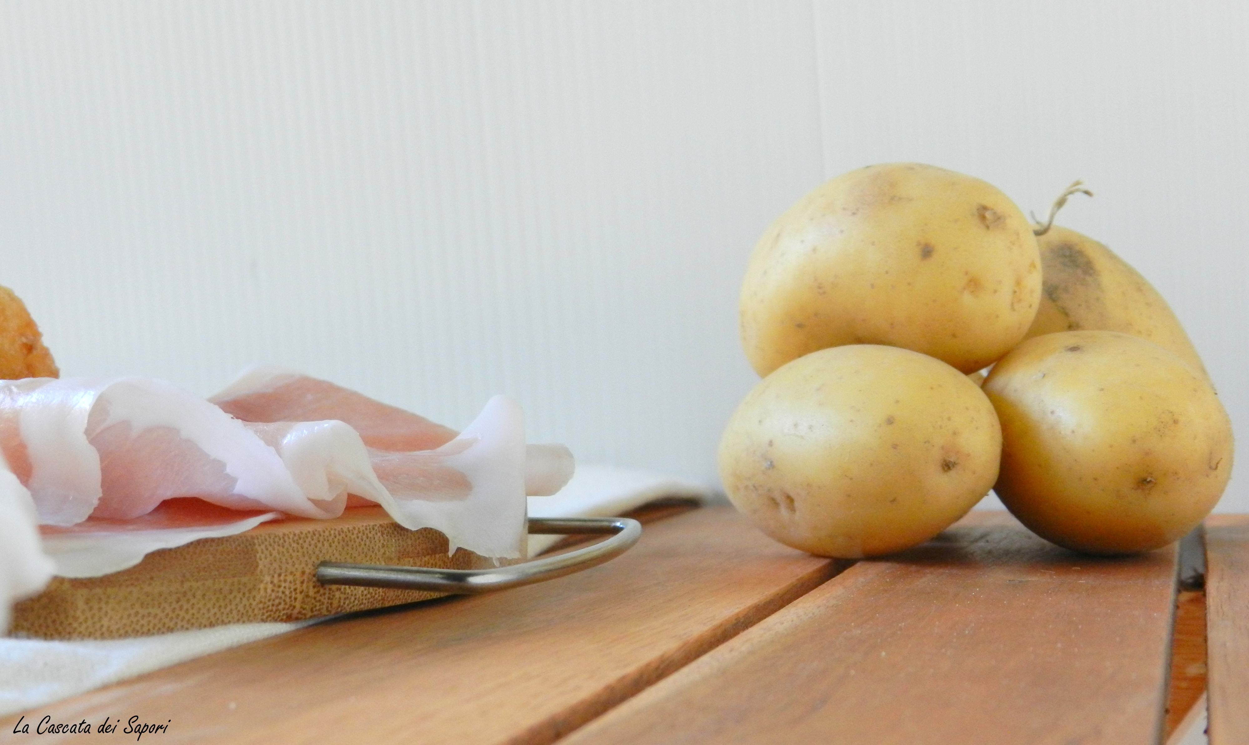 crocchette di patate e speck