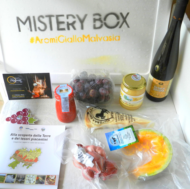 Mistery Box #AromiGialloMalvasia