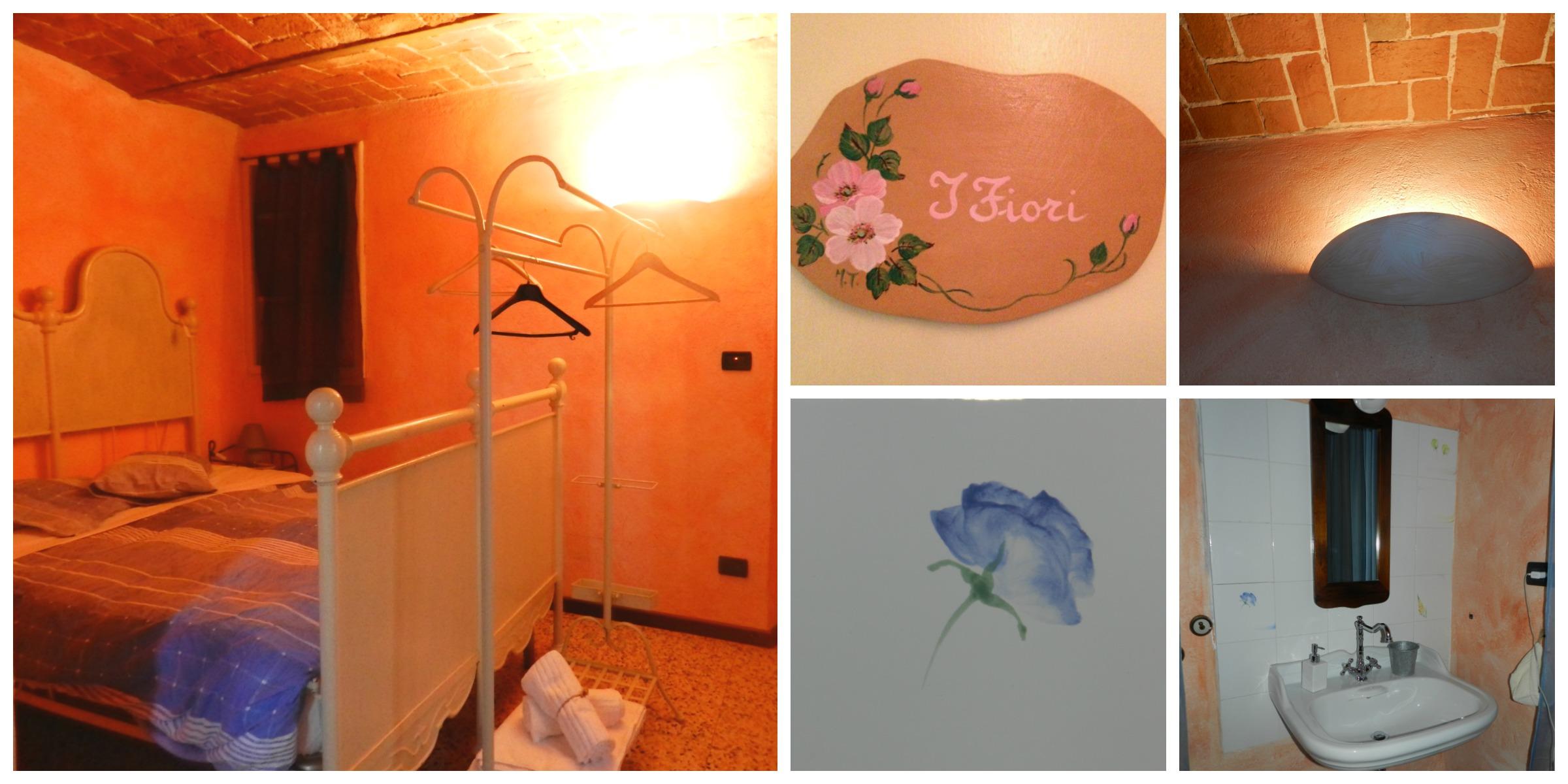 camera i fiori agriturismo Le Piagge Ponzone