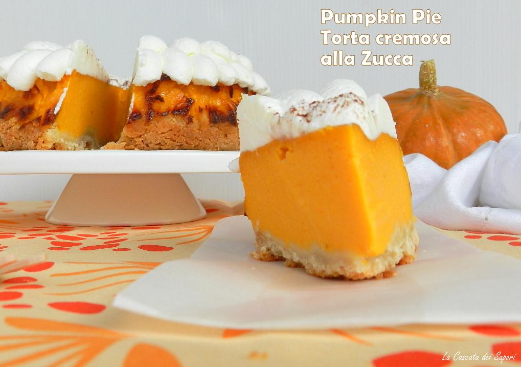 pumpkin pie - torta cremosa alla zucca