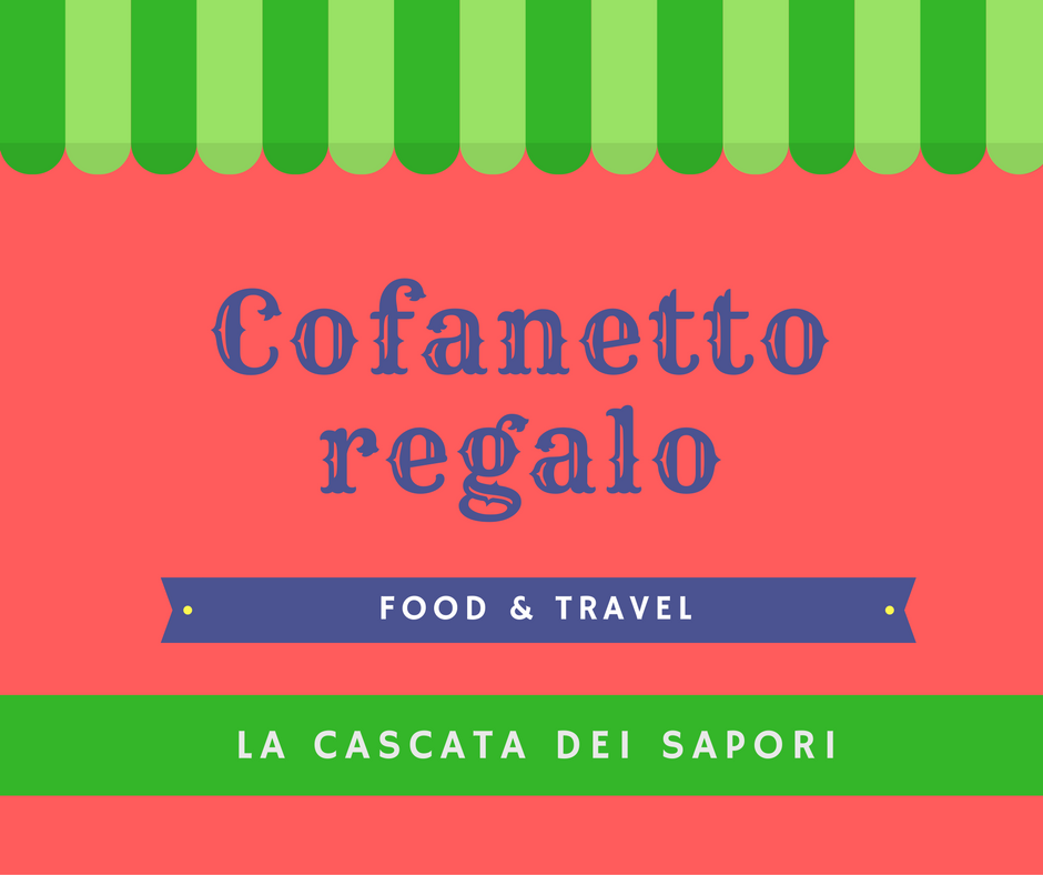Cofanetto regalo food and travel