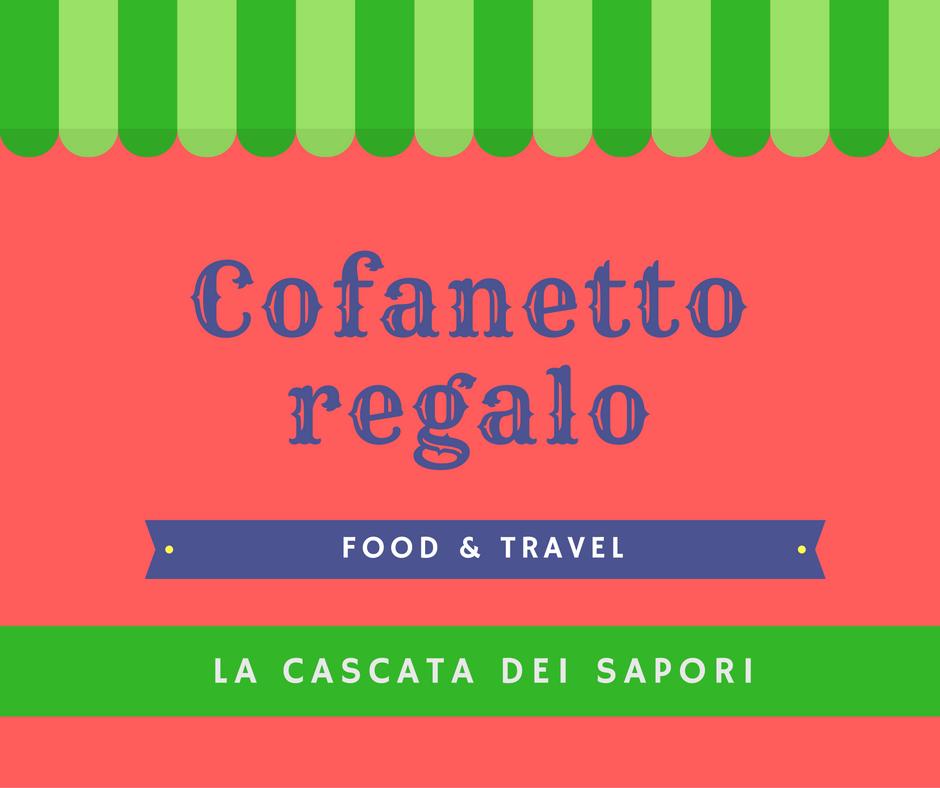 Cofanetto regalo food and travel