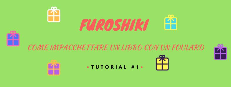 • Furoshiki- come impacchettare un libro con un foulard TUTORIAL #1 •