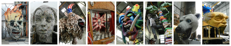 Viareggio Visita alla Cittadella del Carnevale